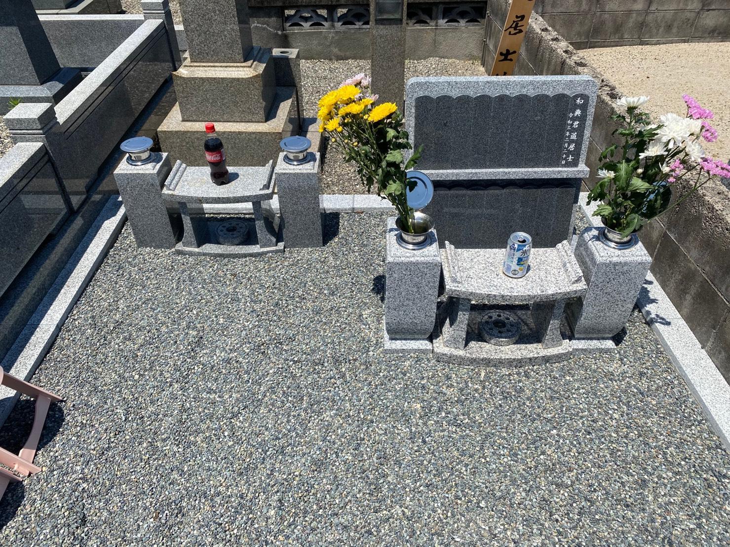 米子墓地②